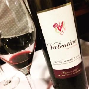 Valentine rouge