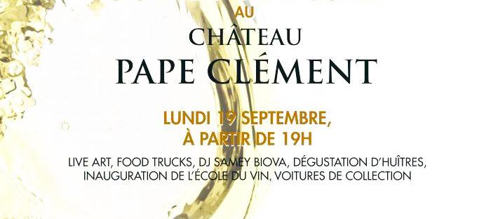 Soirée Blanche Au Château Pape Clément