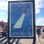 Affiche CIVB vin de Bordeaux